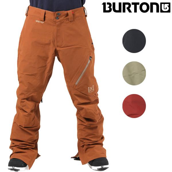 送料無料 スノーボード ウェア パンツ BURTON バートン M AK GORE 2L CYCLIC PT 10000104 17-18モデル メンズ GORE-TEX FF J6