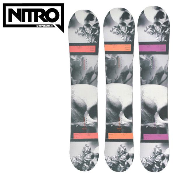 スノーボード 板 NITRO ナイトロ DEMAND LTD デマンド 16-17モデル メンズ DX K25
