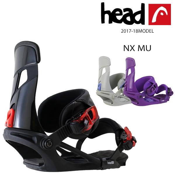 送料無料 スノーボード バインディング HEAD ヘッド NX MU 17-18モデル EE K5