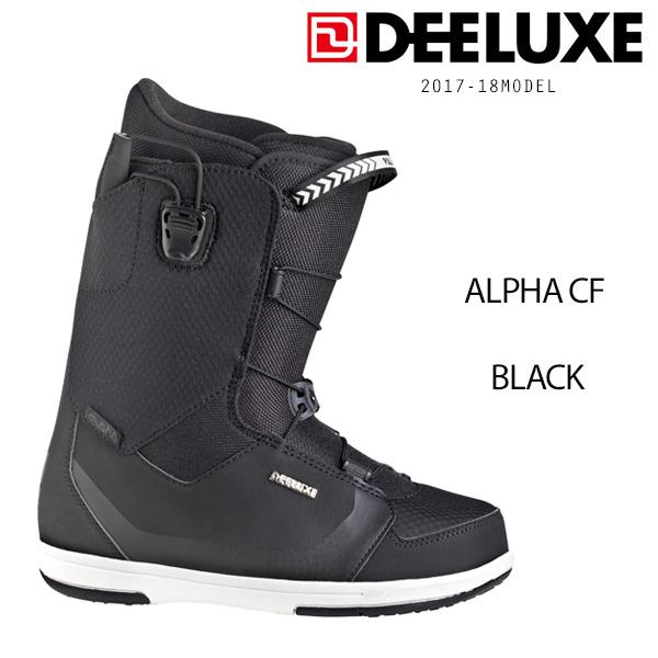 送料無料 スノーボード ブーツ DEELUXE ディーラックス ALPHA CF アルファ BLACK 16-18モデル EE C25