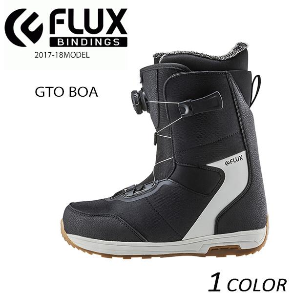 送料無料 スノーボード ブーツ FLUX フラックス GTO BOA 17-18モデル EE K15