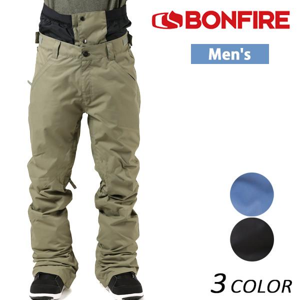 送料無料 スノーボード ウェア パンツ BONFIRE ボンファイアー M BLACKLINE PT 17-18モデル メンズ EE K7