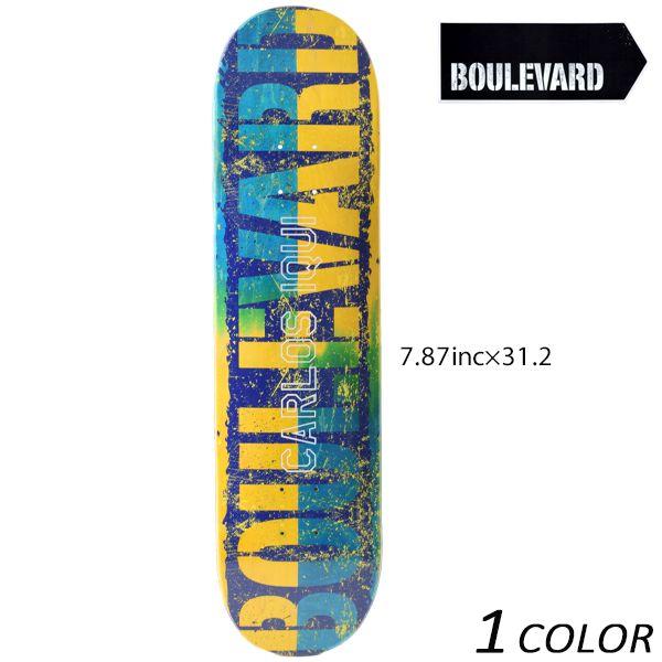スケートボード デッキ BLVD ブルーバード SPILIT IQUI スピリット イクイ VIBLD44-CI-1 GG K13