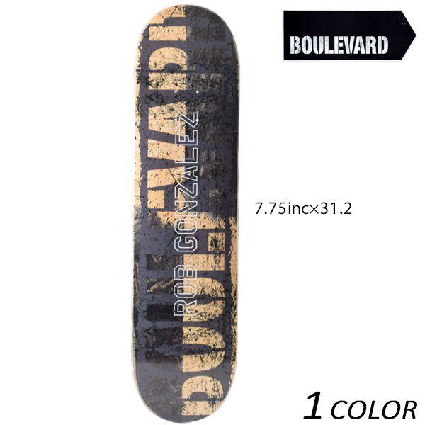 送料無料 スケートボード デッキ BLVD ブルーバード SPILIT GONZALEZ スピリット ゴンザレス VIBLD44-RG-1 FF K13