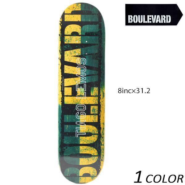送料無料 スケートボード デッキ BLVD ブルーバード SPILIT LEMOS スピリット レモス VIBLD44-TL-2 EE K13