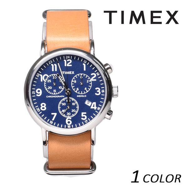 送料無料 時計 TIMEX タイメックス ウィークエンダークロノ TW2P62300 EE K1