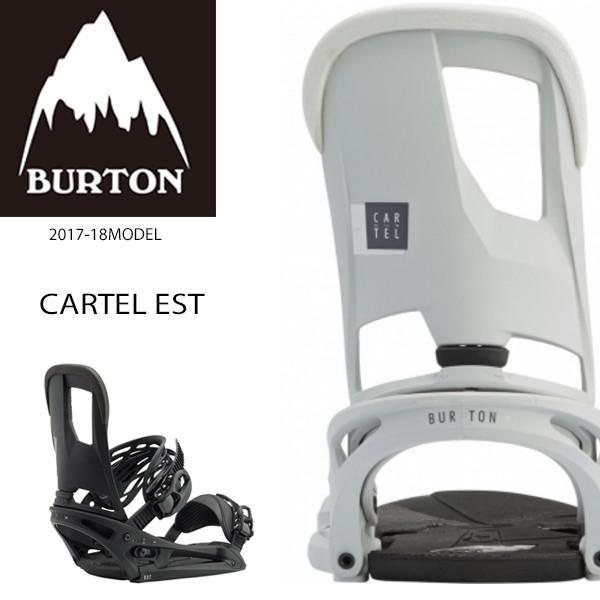 送料無料 SALE セール 30%OFF スノーボード バインディング ビンディング BURTON バートン CARTEL EST カーテル 17-18モデル メンズ EE K20
