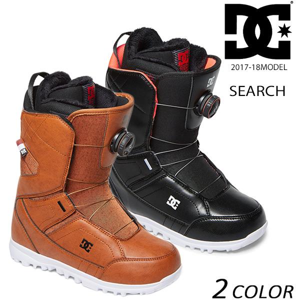 送料無料 SALE セール 30%OFF スノーボード ブーツ DC ディーシー SEARCH サーチ ADJO100013 17-18モデル レディース EE K22