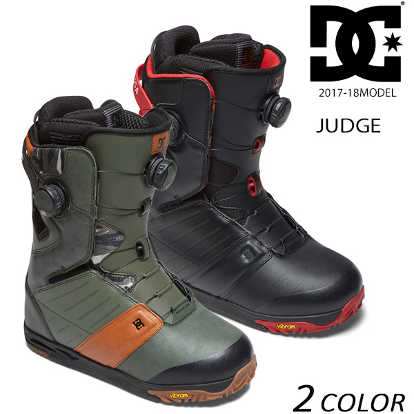 送料無料 スノーボード ブーツ DC ディーシー JUDGE ジャッジ ADYO100025 17-18モデル メンズ EE K22