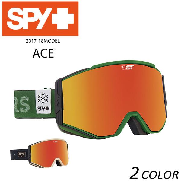 送料無料 スノーボード ゴーグル SPY スパイ ACE エース 17-18モデル アジアンフィット EX K28