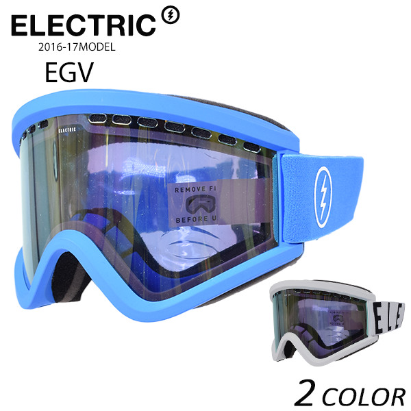 SALE セール 50%OFF スノーボード ゴーグル ELECTRIC エレクトリック EGV 16-17モデル アジアンフィット E1 K18