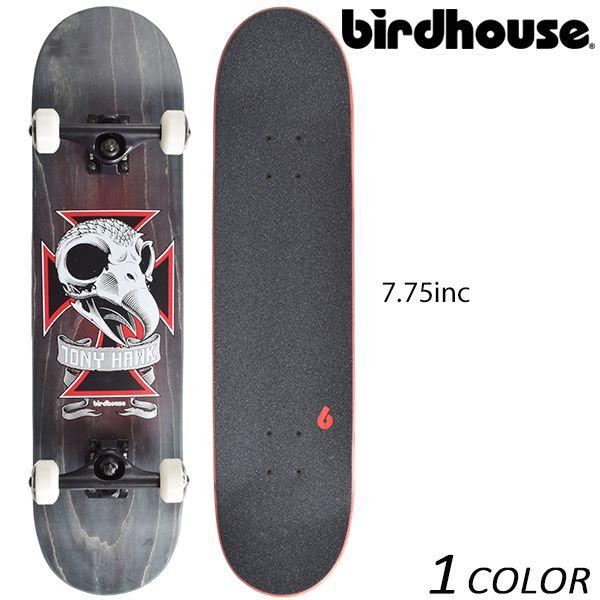 送料無料 スケートボード コンプリートセット birdHouse バードハウス TH SKULL2 15-10-0018 EE K27