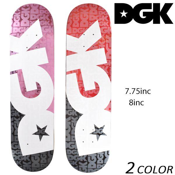送料無料 スケートボード デッキ DGK ディージーケー CONTRAST コントラスト DM6 EE K24