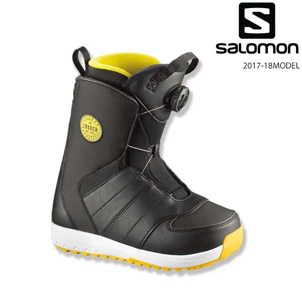送料無料 キッズ スノーボード ブーツ SALOMON サロモン LAUNCH BOA JR L39797800 17-18モデル EE K30