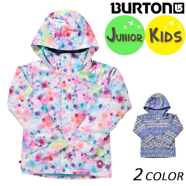 スノーボード ウェア ジャケット BURTON バートン GIRLS ELODIE JK 13045103 ガールズエロディ 17-18モデル キッズ EE K27