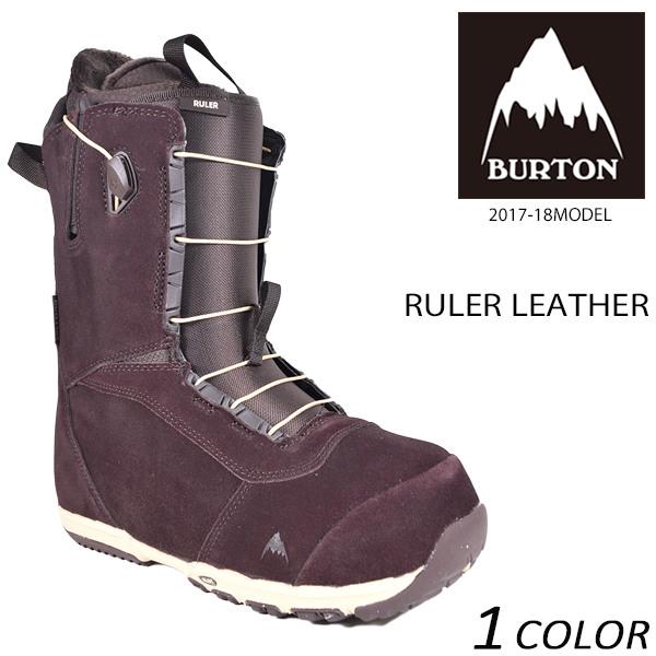 送料無料 スノーボード ブーツ BURTON バートン RULER LEATHER ルーラー レイトモデル 17-19モデル メンズ EE L9