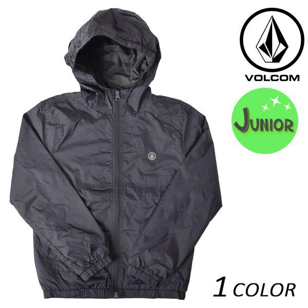ジュニア ジャケット VOLCOM ボルコム Ermont JKT C1511704 ウィンドブレーカー FX3 L9