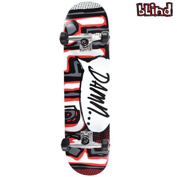 送料無料 スケートボード コンプリートセット BLIND ブラインド MR DAMN BUBBLE FF A6