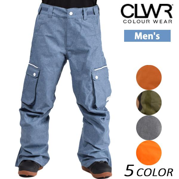 送料無料 スノーボード ウェア パンツ CLWR カラーウェア CLWR PT 12-030-163 16-17モデル メンズ E1 A25