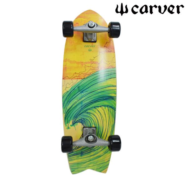 送料無料 サーフ スケートボード コンプリート CARVER カーバー CX SWALLOW スワロー FF A31