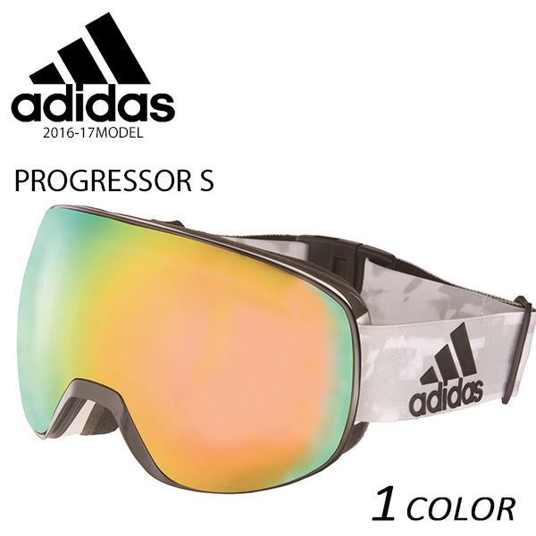 送料無料 スノーボード ゴーグル adidas アディダス PROGRESSOR S AD82 51 6056 16-17モデル E1 B6
