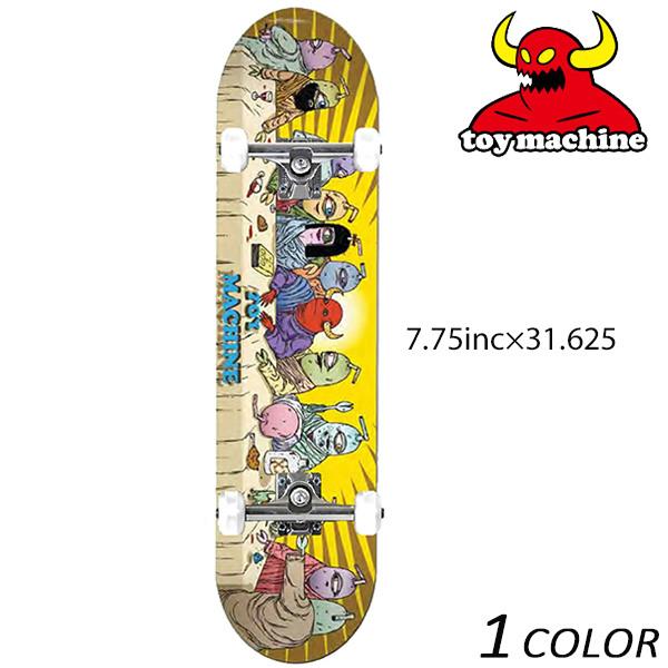 送料無料 スケートボード コンプリートセット TOY MACHINE トイマシーン LAST SUPPER C15154 FF C7