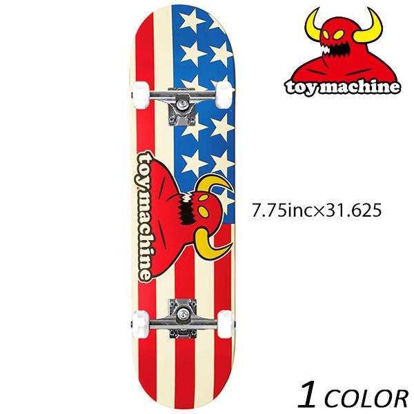 送料無料 スケートボード コンプリートセット TOY MACHINE トイマシーン AMERICAN MONSTER C16018 FF C7