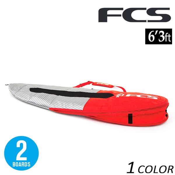 送料無料 サーフィン ハードケース FCS エフシーエス 3D DUAL ALL PURPOSE BDU-063-AP-RDM 6'3 ショートボード用 FX C26