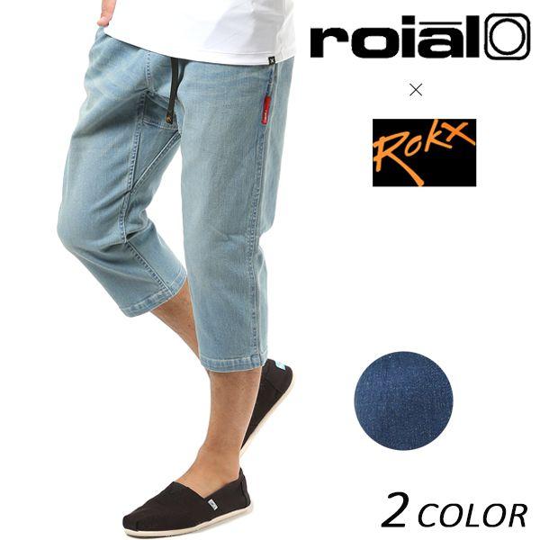 SALE セール 20%OFF メンズ 七分丈 パンツ roial ロイアル × ROKX ロックス CO28 FF1 C24