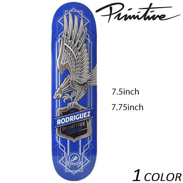 送料無料 スケートボード デッキ PRIMITIVE プリミティブ MR RODRIGUES EAGLE BLUE FF D16