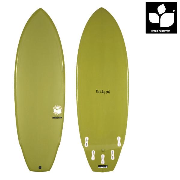 サーフボード ショート THREE WEATHER スリーウェザー SHELTER シェルター 6'0