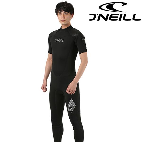 送料無料 メンズ ウェットスーツ シーガル ジップタイプ ONEILL オニール SUPER FREAK SEGULL WF-5050 3mm×2mm ムラサキスポーツ限定 FF D17