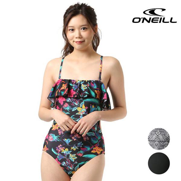 送料無料 レディース 水着 ワンピース ONEILL オニール 628807 FX2 D19