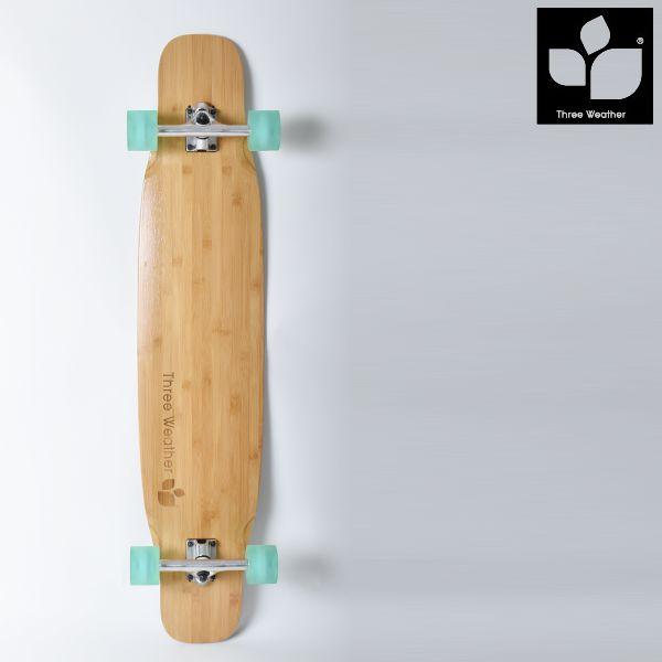 送料無料 ロングスケートボード THREE WEATHER スリーウェザー FREESTYLE フリースタイル FF E9