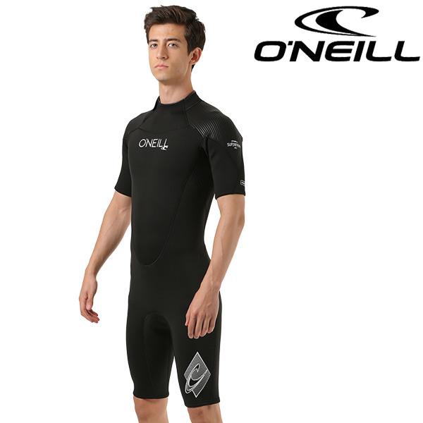 送料無料 メンズ ウェットスーツ スプリング ジップタイプ ONEILL オニール SUPER FREAK WF-5020 3mm×2mm FF E29