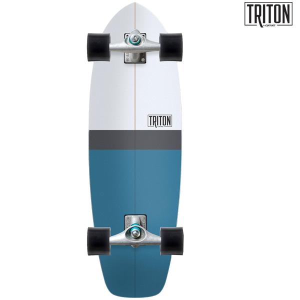 送料無料 サーフ スケートボード コンプリート CARVER カーバー TRITON BLUE HORIZON CX FF F12