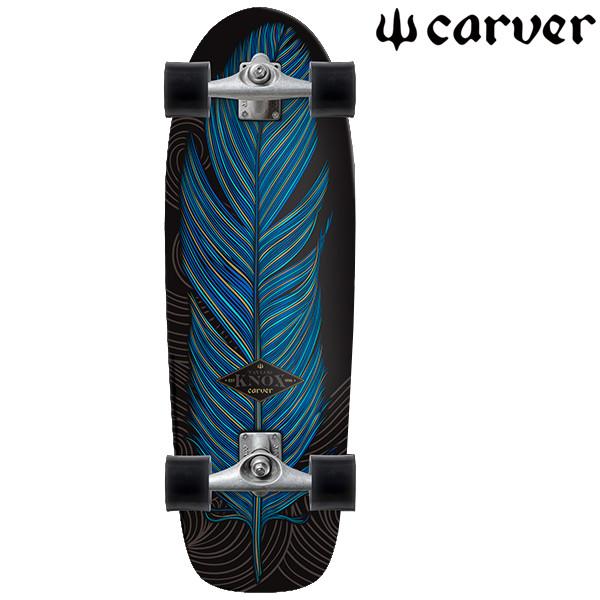 送料無料 サーフ スケートボード コンプリート CARVER カーバー KNOX QUILL CX4 FF F12