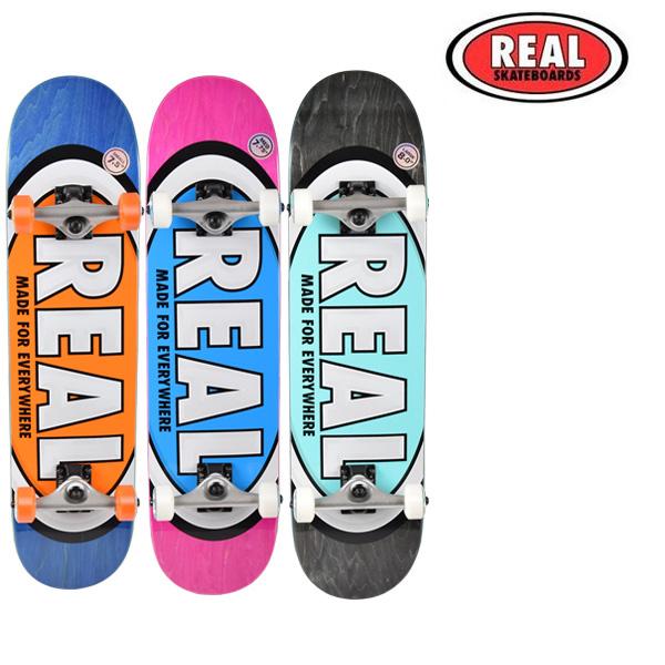 送料無料 スケートボード コンプリートセット REAL リアル TEAM OVALS FF1 F25