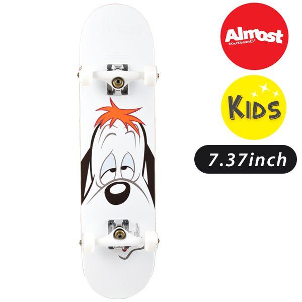 送料無料 キッズ スケートボード コンプリートセット ALMOST オールモスト MR DROOPY FACE FF F22