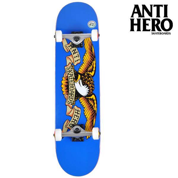 送料無料 スケートボード コンプリートセット ANTIHERO アンチヒーロー FF G12 MM