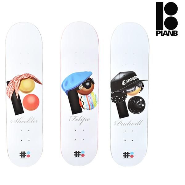 送料無料 スケートボード デッキ PLAN B プラン ビー BEB ×EBS FF G5