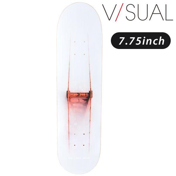 送料無料 スケートボード デッキ V/SUAL ヴィジュアル MATT MILLER ABOVE DECK VD5 FF G11
