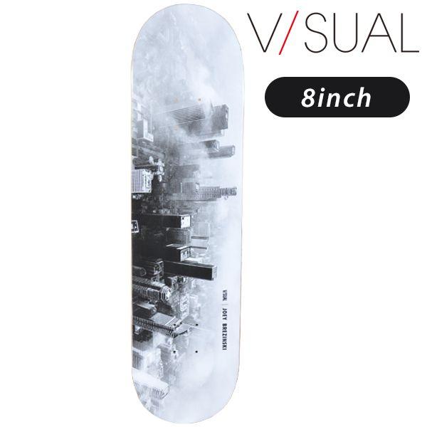 送料無料 スケートボード デッキ V/SUAL ヴィジュアル MR J BREZINSKI DOWNTOWN DECK VM2 FF G11 MM