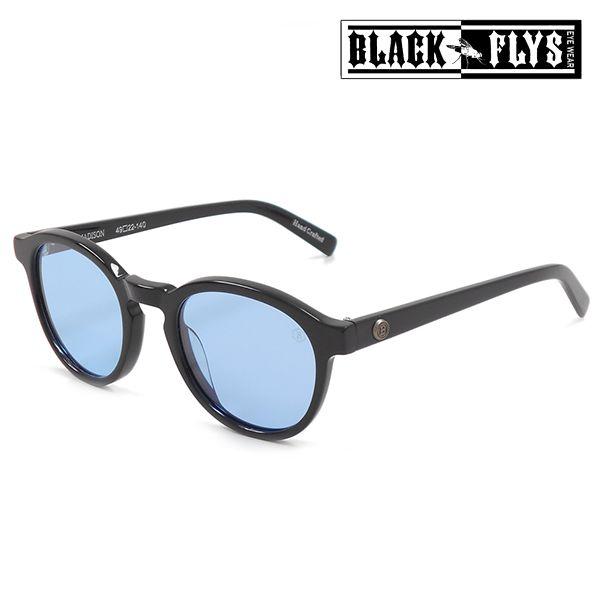 送料無料 サングラス BLACK FLYS ブラックフライ FLY MADISON BF-12825-03 FF G9
