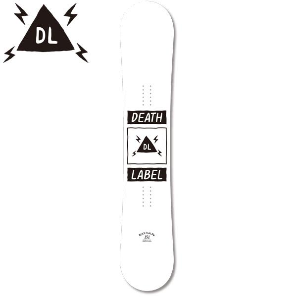 クーポン対象商品 予約販売 10月中旬入荷予定 スノーボード 板 DEATH LABEL デスレーベル BLACK FLAG DW ブラック フラッグ 18-19モデル EE G19