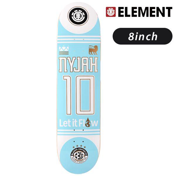 送料無料 スケートボード デッキ ELEMENT エレメント BLAZED NYJAH AI027-096 FF G21