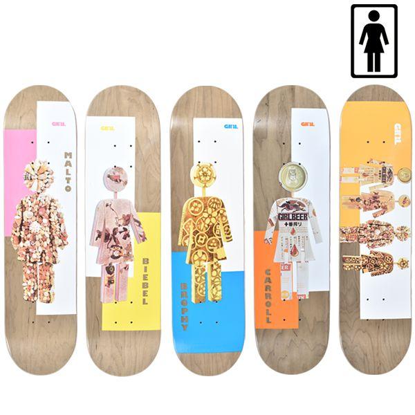 送料無料 スケートボード デッキ GIRL ガール MR OG DOLLS GM7 ムラサキスポーツ限定 FF G30