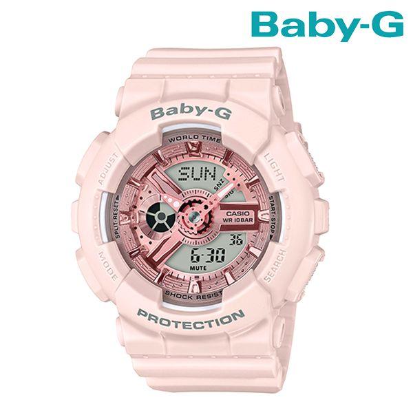 送料無料 時計 BABY-G ベビージー Pink Beige Colors BA-110CP-4AJF FF G19