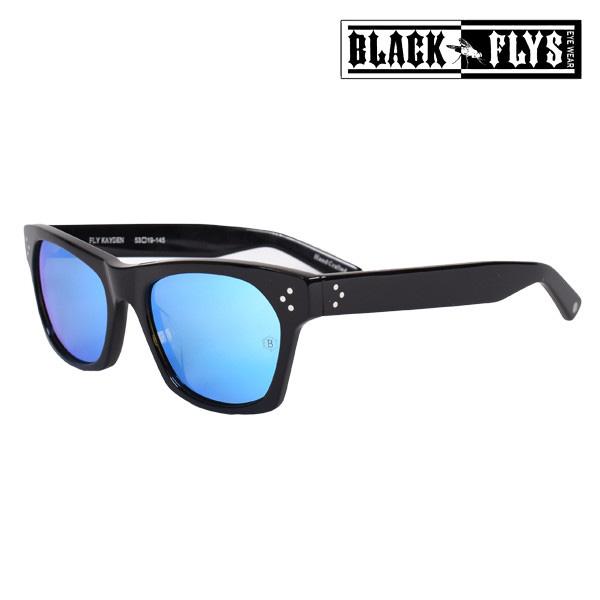 送料無料 サングラス BLACK FLYS ブラックフライ FLY KAYDEN フライケイデン BF-1225-M1 偏光レンズ ミラーレンズ ムラサキスポーツ限定 FF G24