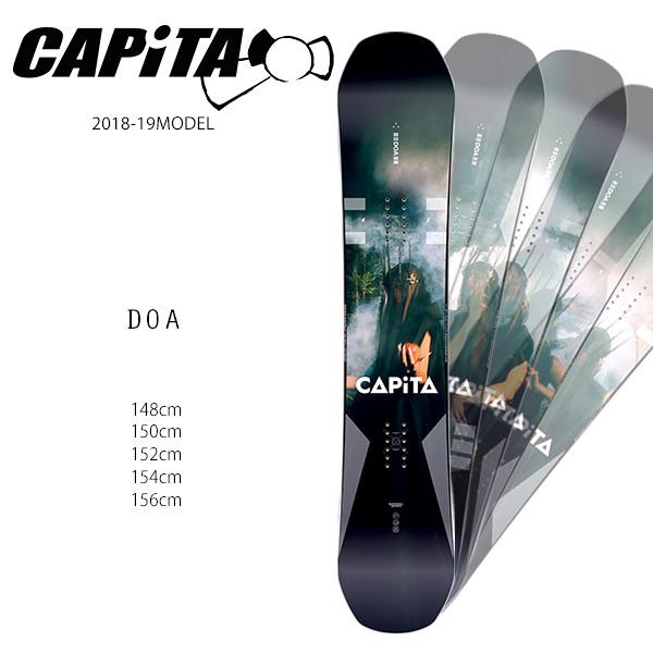 クーポン対象商品 予約販売 10月中旬入荷予定 スノーボード 板 CAPITA キャピタ DOA ディーオーエー 18-19モデル メンズ FF H7